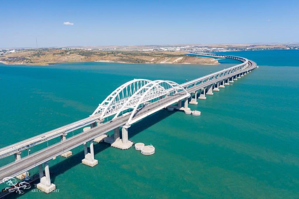 Крымский мост Берег Керчи