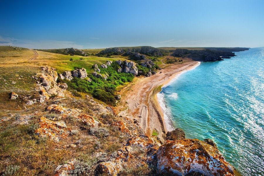 Крым азовское море